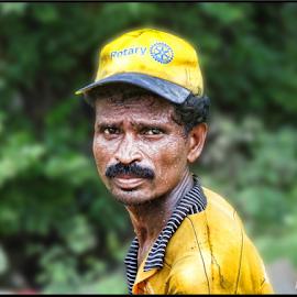 by Milan Kumar Das - People Portraits of Men