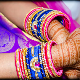 wedding Bride by Bhukya Deepika - Wedding Bride ( bride, bangles, wedding, indian wedding, indian )