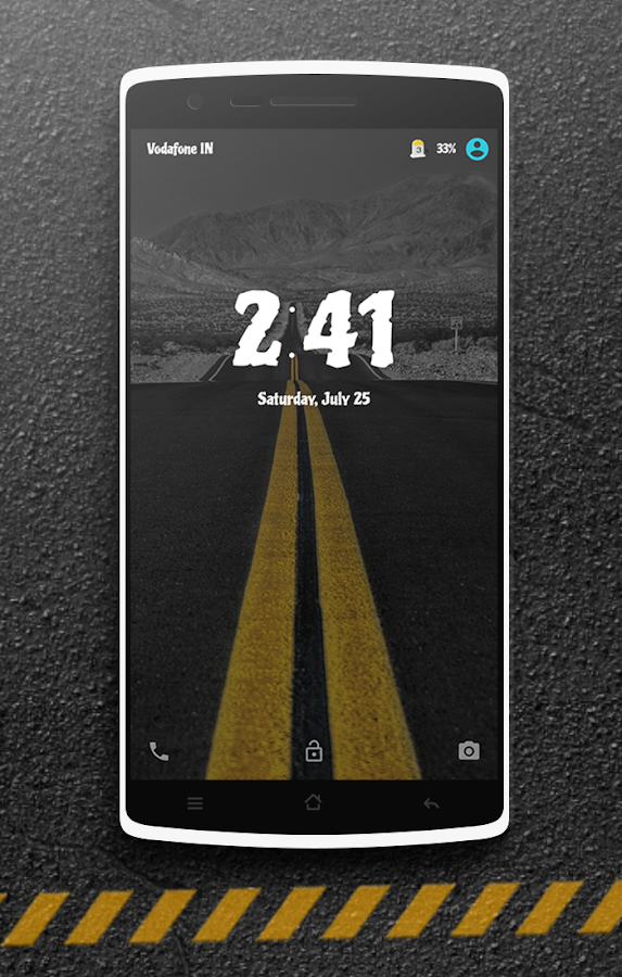 The Road CM13 CM12 DU Theme Screenshot 3
