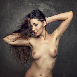 Madame Bink by John McNairn - Nudes & Boudoir Artistic Nude ( colour, studio, scotland, model, nude, creative )