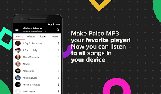 App Palco MP3 APK for Kindle