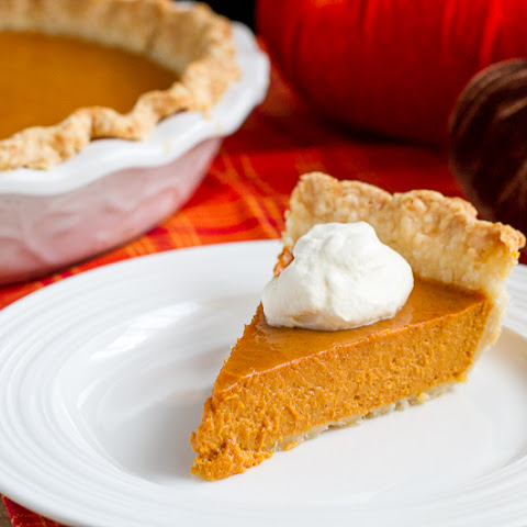 Boozy Bourbon Pumpkin Pie