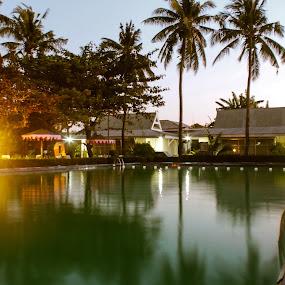 Swimming pool #2 by Adi Mumun'k - Landscapes Travel ( makassar, pool, travel, landscape, swimming )