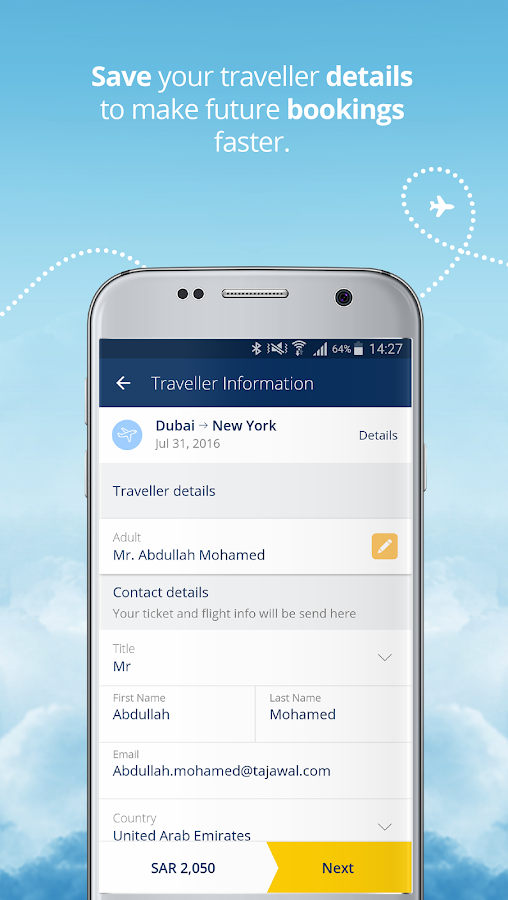tajawal: Flight Booking Screenshot 2