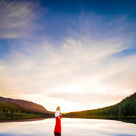 New Year, New Life by Tiffany Perkins - People Maternity ( maternity, seattle, pregnancy, lake, baby )
