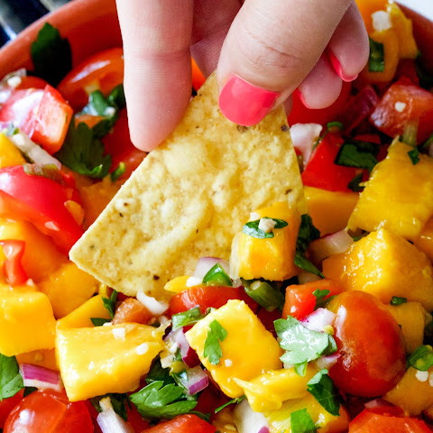 Mango Salsa with Lemon-Lime Vinaigrette
