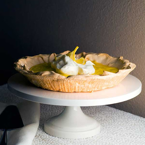 Gluten Free Upside Down Lemon Meringue Pie