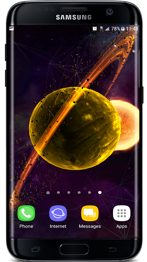 Gyro VFX Planets 3D Live Wallpaper APK Cracked Free Download