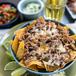 Spicy Pulled Pork Nachos