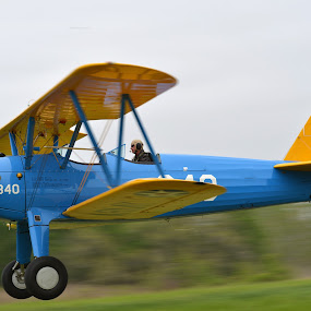 Stearman by Michael Giardina - Transportation Airplanes