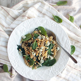 Spinach Blue Cheese Pasta