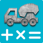 Concrete Calculator Icon