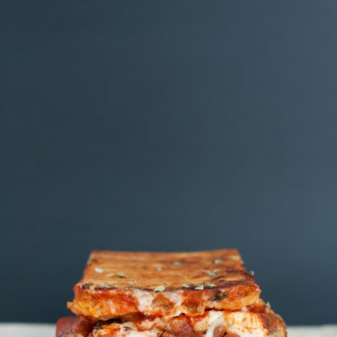 """The Canadian"" Pizza Grilled Cheese"
