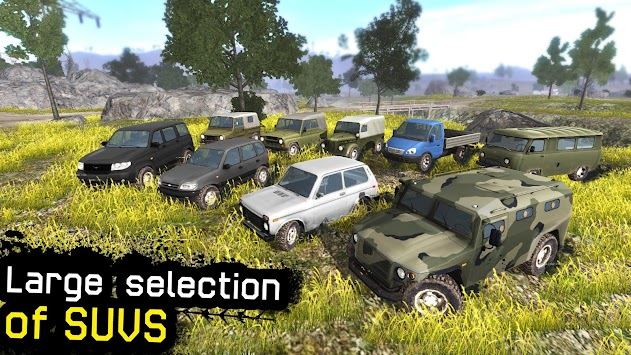 4x4 Russian SUVs Off-Road Saga apk screenshot