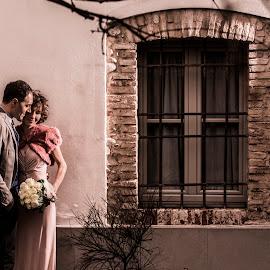 Masha e Stefano by Mauro Locatelli - Wedding Bride & Groom ( wedding, romantic, bride and groom )