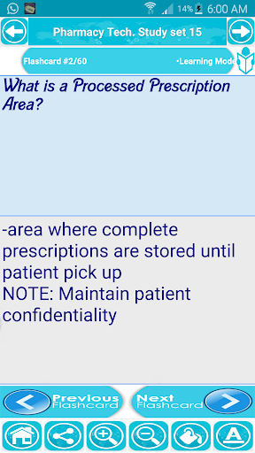 Pharmacy Technician Exam Prep - screenshot