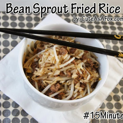 Bean Sprout Fried Rice