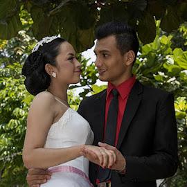 by Dandy Tanuwidjaja - Wedding Bride & Groom