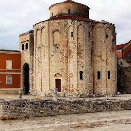Church of St. Donatus, Zadar by Greta Vukelić - Buildings & Architecture Public & Historical ( amazing, religion, church, street, croatia, stone, architecture, travel, historical, zadar, travel photography, city,  )