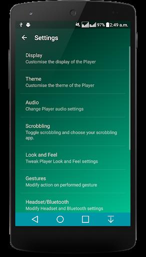 Ghost Music Player Pro - screenshot