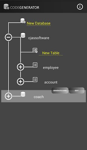 Code Generator - screenshot
