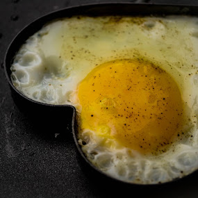 Hearty breakfast by Gi Masangya - Food & Drink Cooking & Baking ( fried egg, nikon d3100, food, sunny side up, cooking, food photography, nikon, egg, philippines, photography )