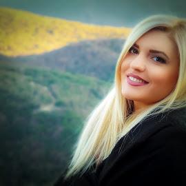 Fotini by JimmyJoe CreationTeam - People Fashion ( blonde, fashion, model, girl, nature, woman, beauty, people, portrait )