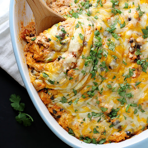 Cheesy Mexican Couscous Casserole