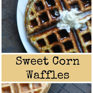 Sweet Corn Waffles