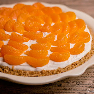 Mandarin Orange No Bake Cheesecake