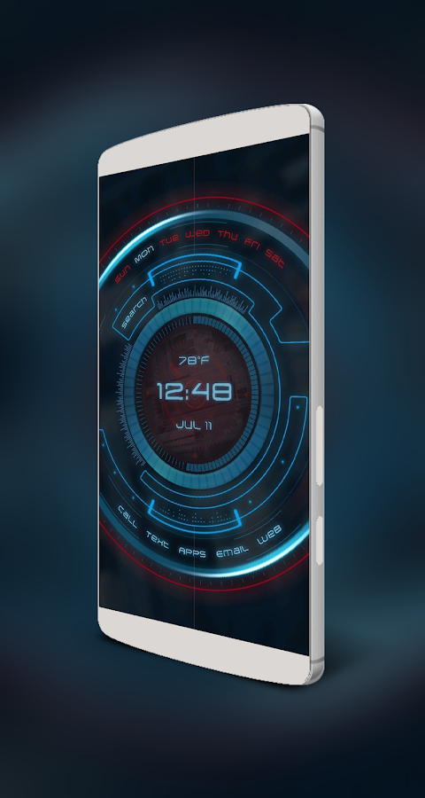 FutureHome for KLWP Screenshot