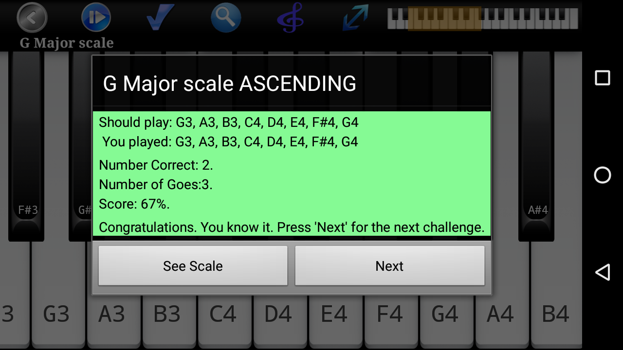 Piano Scales & Chords Pro Screenshot 6