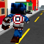 Super-Hero Craft Avengers Run for Lollipop - Android 5.0