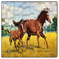 Game horses fun jigsaw puzzles 2017 APK for Kindle