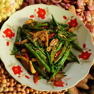 Sesame Green Beans And Mushrooms Recipes