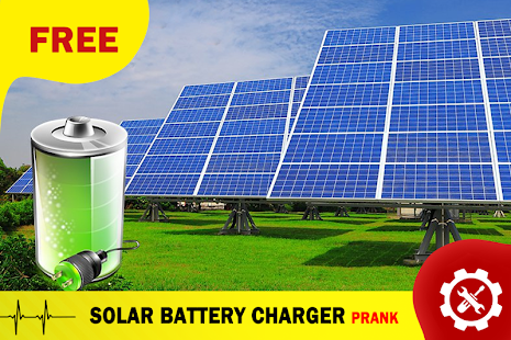Solar Battery Charger Prank - screenshot