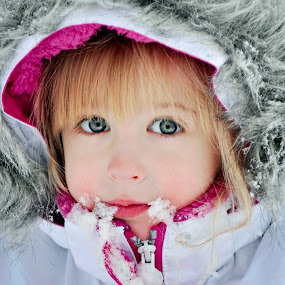 It's Just Snow Fun by Annette Turner - Babies & Children Child Portraits