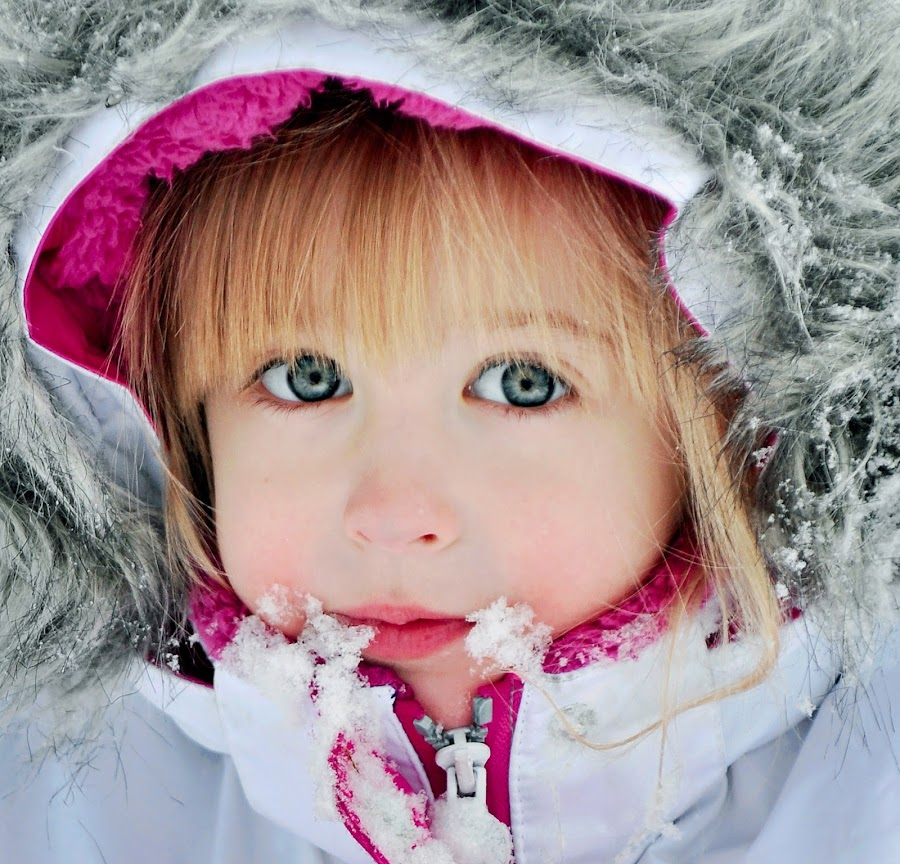 It's Just Snow Fun by Annette Turner - Babies & Children Child Portraits