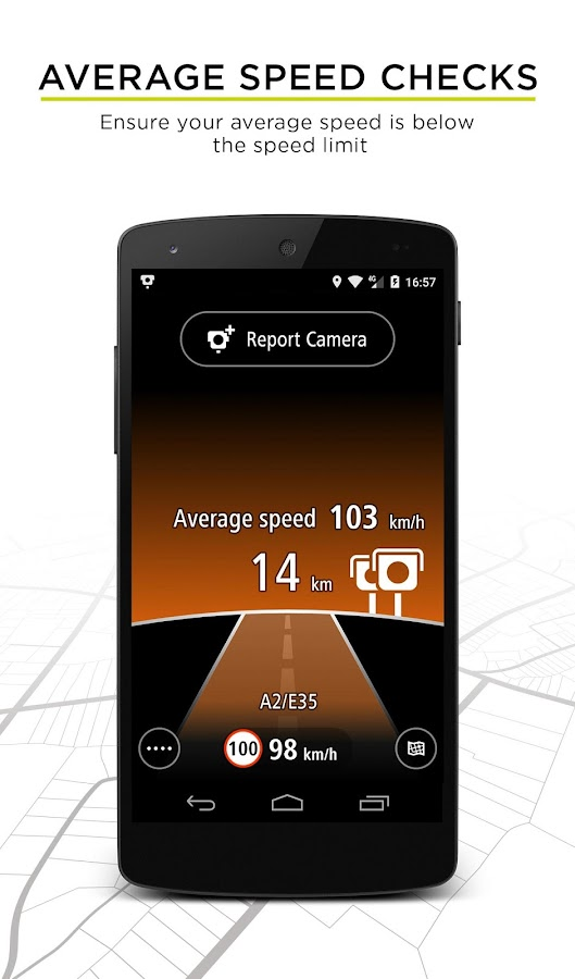 TomTom Speed Cameras Screenshot 2