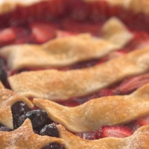 Old Glory Berry Pie