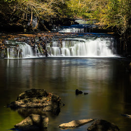 Little Falls by Thomas Jones - Landscapes Waterscapes ( little duck river, old stone fort, waterscape, waterfall, tennessee, little falls, manchester, infinity prime photography )
