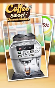 Coffee Sweet Dessert Maker