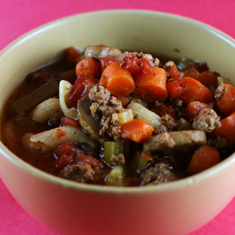 Italian Minestrone Soup in the Slow Cooker