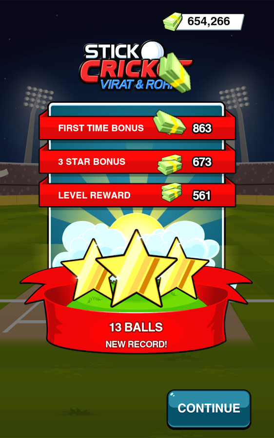 Stick Cricket Virat & Rohit Screenshot 4