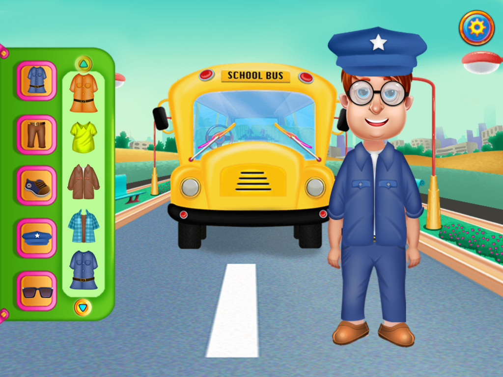Wheels On The Bus Activities Screenshot 0
