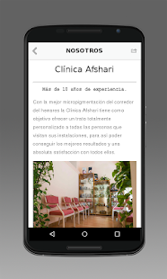 Clinica Afshari - screenshot