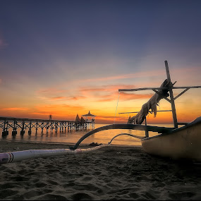 sunset pasir putih beach by Roelz Marvin Hyde - Landscapes Beaches