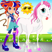 Little Pony && Equestrian Girl APK Descargar