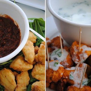 Chicken Bites with Chipotle Dipping Sauce