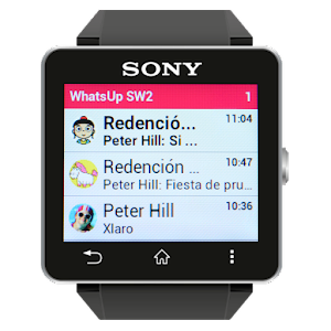 WhatsUp for Sony Smartwatch2